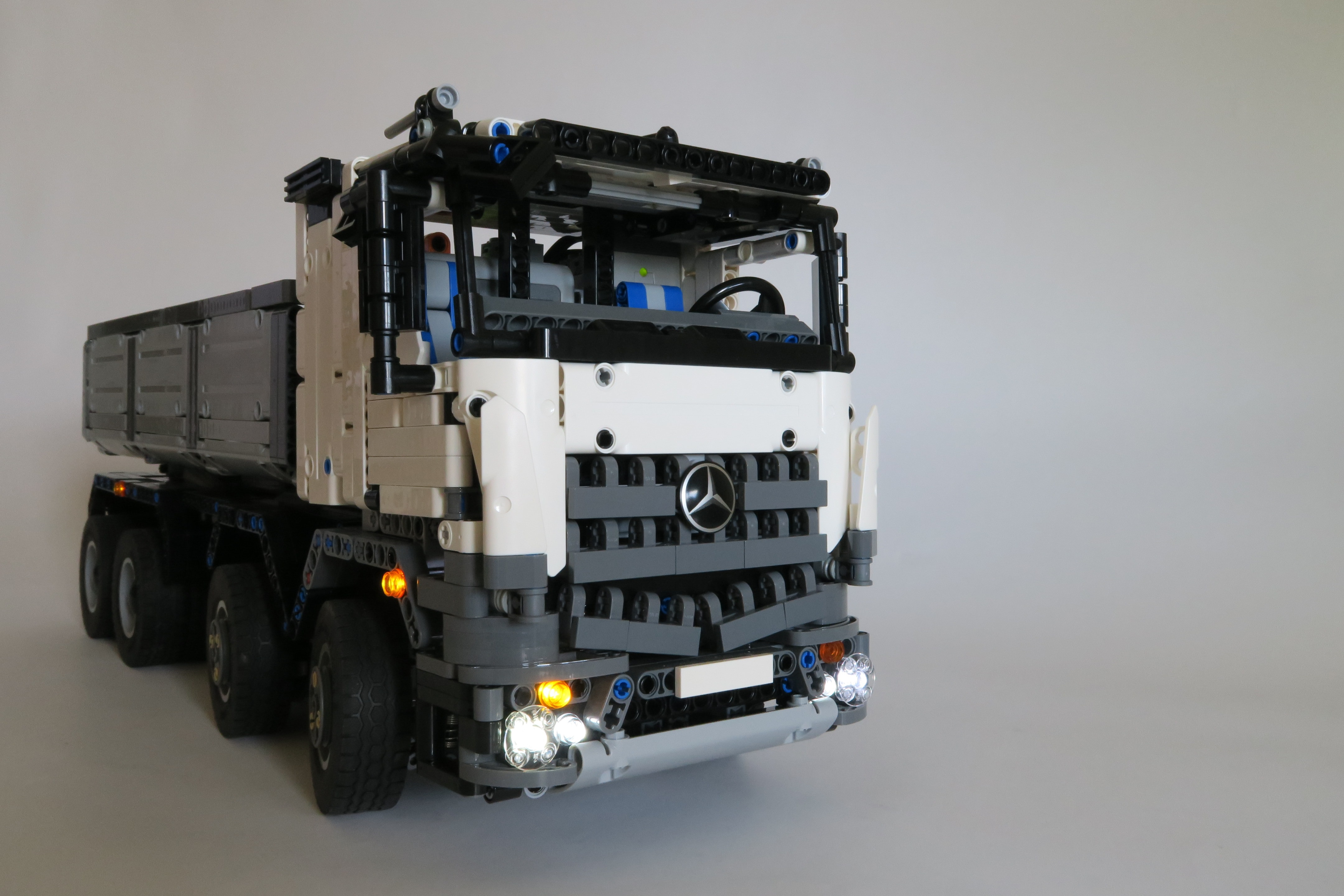 Mercedes Arocs dump truck