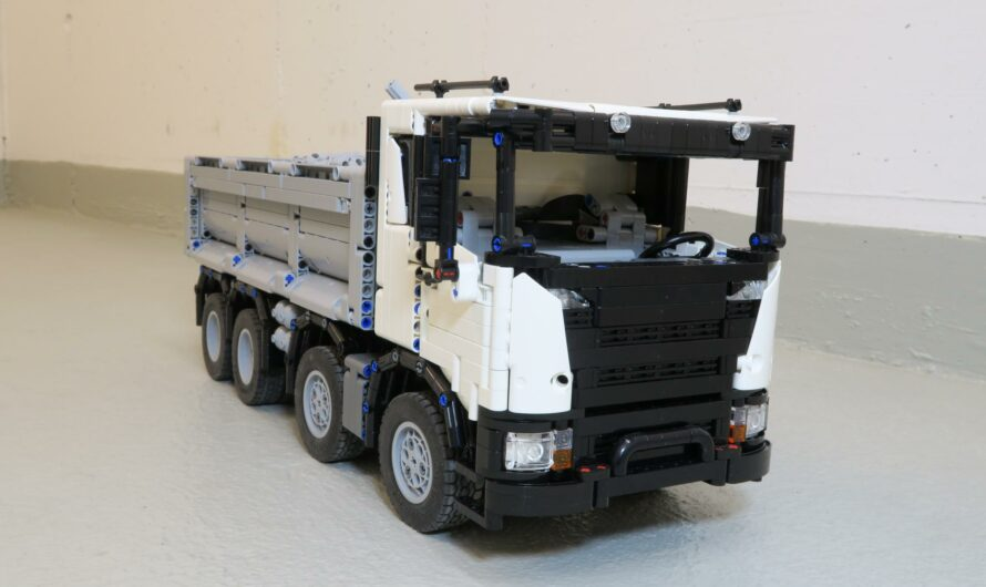 Dump Truck inspired by Scania XT series