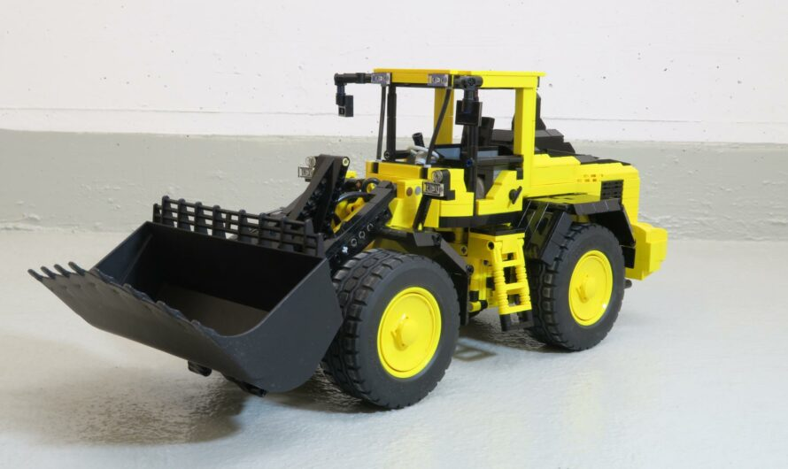 Wheel loader inspired by Volvo loaders